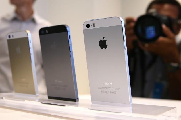 3 appareils Apple modèle 5S