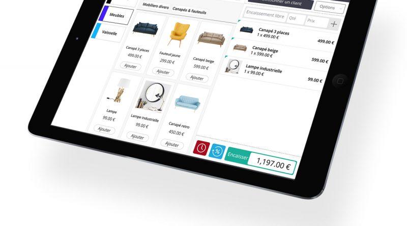 Comment fonctionne une caisse enregistreuse tactile iPad ?
